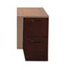 Mayline Sorrento Series Veneer File/File Pedestal For Desk Top, Bourbon Cherry (MLNSDFFSCR)