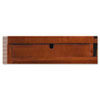 Mayline Sorrento Letter Hutch Trays, 16¾w x 13d x 2¾h, Bourbon Cherry, 2/Set (MLNSHLTSCR)