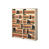 Tennsco Snap-Together Open Shelving Steel 7-Shelf Closed Add-On Unit, 48 x 12 x 88, Sand (TNN128848ACSD)