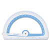 Westcott Soft Touch School Protractor With Microban Protection, Assorted Colors (ACM14376)