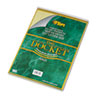 Tops Docket Wirebound Ruled Pad w/Cover, Legal Rule, Ltr, Canary, 70 Sheets/Pad (TOP63621)