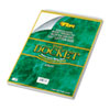 Tops Docket Wirebound Ruled Pad w/Cover, Legal Rule, Ltr, White, 70 Sheets/Pad (TOP63631)