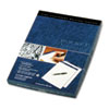 Tops Docket Diamond Litigation Ruled Pad, 8-1/2 x 11-3/4, Ivory, 50-Sheet, 2 Pads/Box (TOP63984)