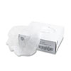 General Supply Disposable Hair Net, Spun-Bonded Polypropylene, White, 100/Bag (UFS7387WL)