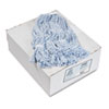 Unisan Four-Ply Floor-Finish Mop Heads, Medium, White/Blue Stripes, 12/Carton (UNS542CT)