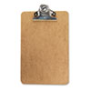 Universal Clipboard w/High-Capacity Clip, 1 Capacity, Holds 6w x 9h, Brown (UNV05610)