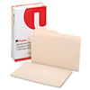 Universal File Folders, 1/2 Cut, Two-Ply Top Tab, Legal, Manila, 100/Box (UNV16122)