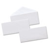 Universal Security Tinted Business Envelope, V-Flap, #10, White, 500/Box (UNV35202)