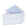 Universal Security V-Flap Envelope, 3 5/8 x 6 1/2, White, 250/Box (UNV35204)