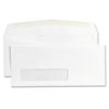 Universal Window Business Envelope, Contemporary, #9, White, 500/Box (UNV35219)