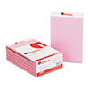 Universal Colored Perforated Note Pads, Wide Rule, 5 x 8, Pink, 50-Sheet, Dozen (UNV35853)