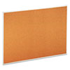 Universal Bulletin Board, Natural Cork, 48 x 36, Satin-Finished Aluminum Frame (UNV43614)